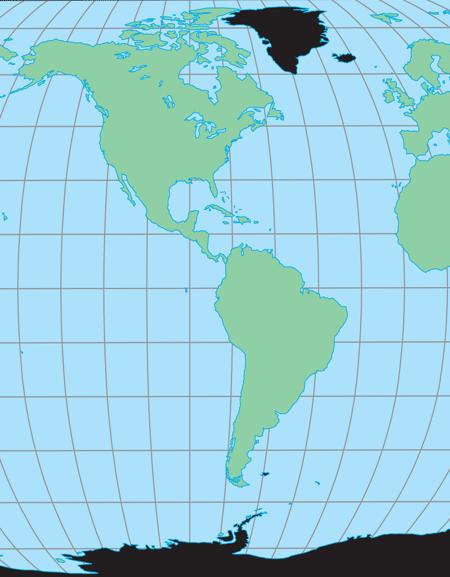 Atlantic Ocean & Antarctic