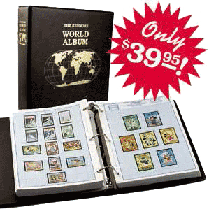 Kenmore World Stamp Album