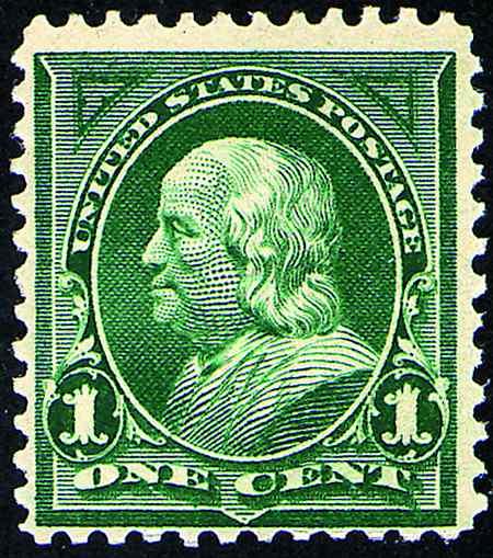 1898 Universal Postal Union Colors #279-284