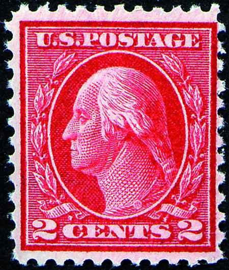 1915 Perf. 11 Single Line Watermark  #461