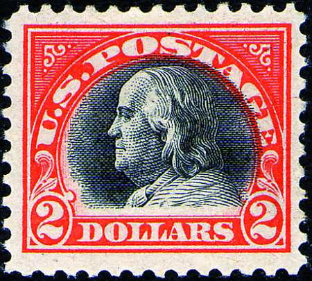 1918 $2 and $5 Issues  #523-524