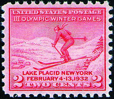 1932 Commems  #716-19, 724-25