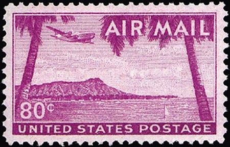 1946-1961 Airmails #C32-C63