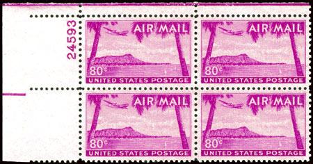 Airmail Plate Blocks