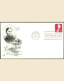 #1293 - 50¢ Lucy Stone: FDC