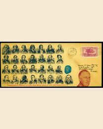 1937 Franklin D. Roosevelt Inaugural Cover