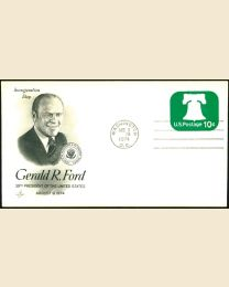 1974 Gerald R. Ford Inaugural Cover