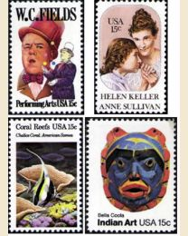 #1980Y - 1980  35 stamps