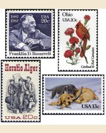 #1982Y - 1982  30 stamps