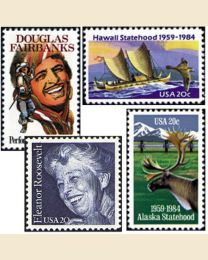 #1984Y - 1984  44 stamps