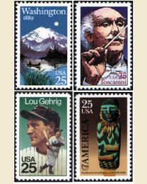 #1989Y - 1989  32 stamps