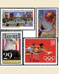 #1991Y - 1991  47 stamps