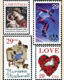 #1994Y - 1994  65 stamps