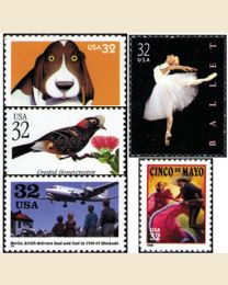 #1998Y - 1998  53 stamps