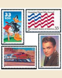 #1999Y - 1999 69 stamps