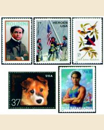 #2002Y - Set of 42 stamps