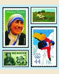 #2010Y - Set of 51 stamps