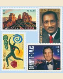 #2012Y- 2012  72 stamps