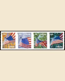#4770S- (46¢) Flag in Four Seasons coil