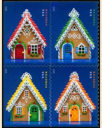 #4817S- (46¢) Gingerbread Houses