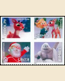#4946S- (49¢) Rudolph the Red-Nosed Reindeer