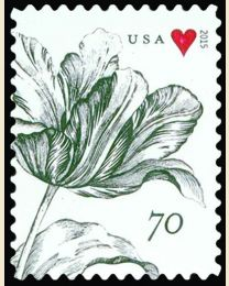 #4960 - 70¢ Tulip and Heart