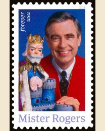 #5275 - (50¢) Mister Rogers