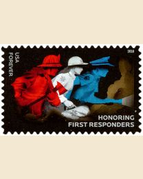 #5316 - (50¢) First Responders