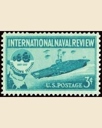 #1091 - 3¢ Naval Review