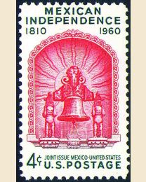 #1157 - 4¢ Mexican Independence