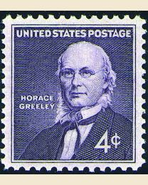 #1177 - 4¢ Horace Greeley