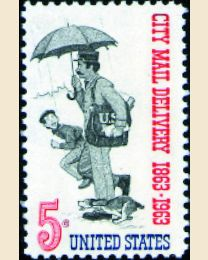 #1238 - 5¢ City Mail Delivery