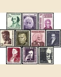 #1278S - Prominent Americans set of 21
