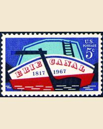 #1325 - 5¢ Erie Canal