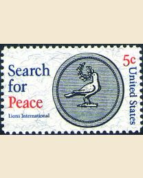 #1326 - 5¢ Search for Peace