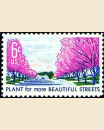#1368 - 6¢ Beautify Streets