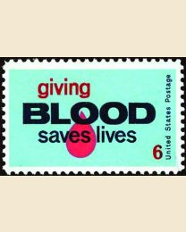 #1425 - 6¢ Blood Donors