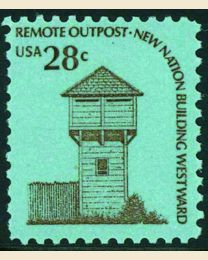 #1604 - 28¢ Fort Nisqually