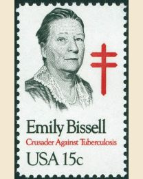 #1823 - 15¢ Emily Bissell
