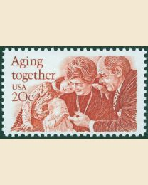 #2011 - 20¢ Aging Together