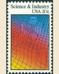 #2031 - 20¢ Science and Industry