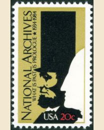 #2081 - 20¢ National Archives