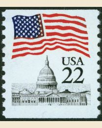 #2115 - 22¢ Flag over Capitol