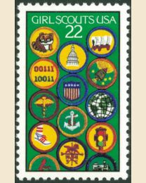 #2251 - 22¢ Girl Scouts