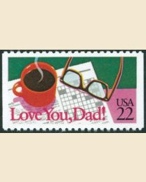 #2270 - 22¢ Love You Dad