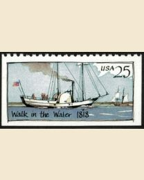 #2409 - 25¢ Walk in the Water