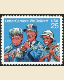 #2420 - 25¢ Letter Carriers