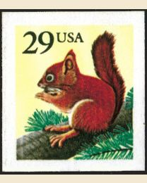 #2489 - 29¢ Red Squirrel
