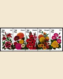 #2829S - 29¢ Summer Flowers booklet