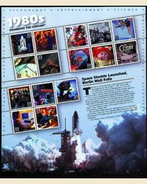 #3190 - 1980s Space Shuttle Launched, Berlin Wall Falls